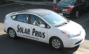 Solar retrofit from Solar Electrical Vehicles in Westlake Village, CA