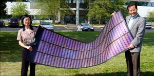 Xunlight Corp solar thinfilm panel (courtesy Xunlight)