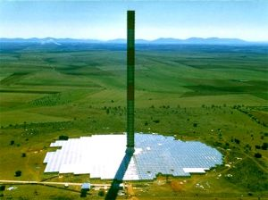 EnviroMission's projected Solar Tower (artist rendering)