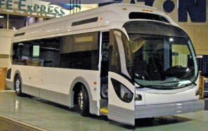 Proterra All-Electric Clean Bus in San Jose
