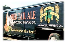 A Red Tail Ale van -- Drop me off here, please